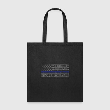 If This Line Offends You Don't Cross This Line - Tote Bag