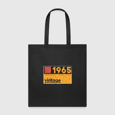 Produce Music 1965 Vintage Cassette Birthday Shirt - Tote Bag