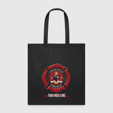 Louisville Firefighter Shirt Firefighter Gifts Kentucky Shirt - Tote Bag