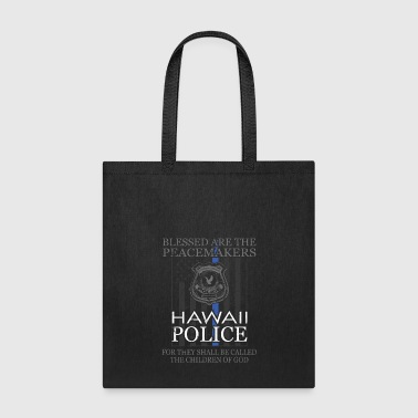 Hawaii Police Support Saint Michael Police Officer Prayer - Tote Bag
