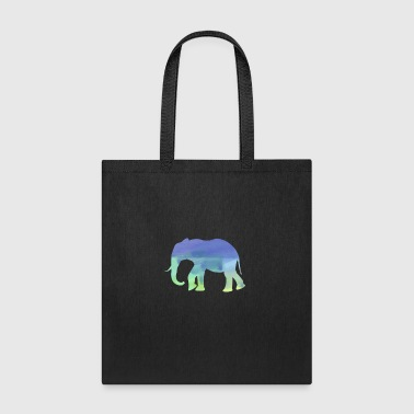 Elephant Water Color Animal Water Color Watercolor Shirt - Tote Bag