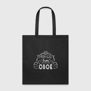 College Marching Band Guy Oboe High School Band - Tote Bag