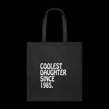 Coolest Daughter In Law Since 1985 Best Daughter Tshirt - Tote Bag