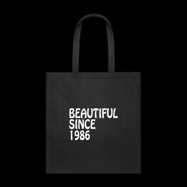Beautiful Since 1986 Happy Birthday Best Friend - Tote Bag