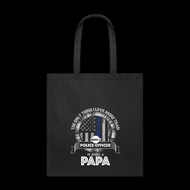 Police Dad Police Officer Papa Police Dad Gift - Tote Bag