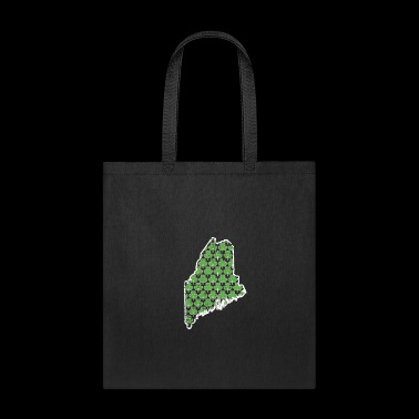 Shamrock Gifts For Men Maine Saint Pattys Day Shirt Women - Tote Bag