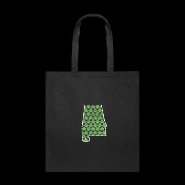Real Shamrock Alabama St Pattys Shirt Women - Tote Bag