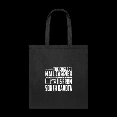 Personalized Mail Carrier South Dakota Mailman T Shirt - Tote Bag