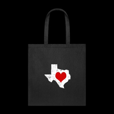 Valentines Day Texas Cute Valentines Day Gift Hearts Shirt - Tote Bag