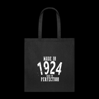 Made In 1924 Happy Birthday Shirt - Tote Bag