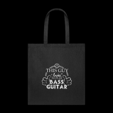 High School Marching Band Guy Bass Guitar College Marching - Tote Bag