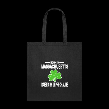 Massachusetts Shirt Raised Leprechauns St Patrick Hoodie - Tote Bag