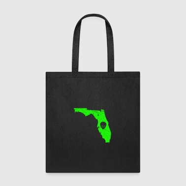Alien Face T Shirt UFO Encounters Florida UFO Crash - Tote Bag