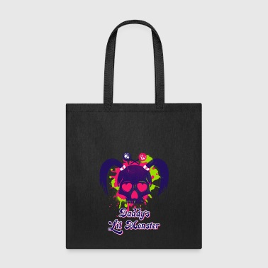 Daddys Lil Monster - Tote Bag