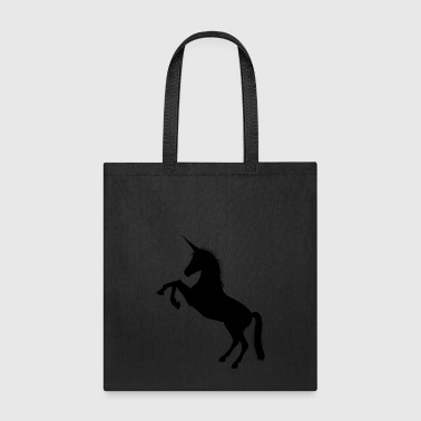 Black Unicorn - Tote Bag