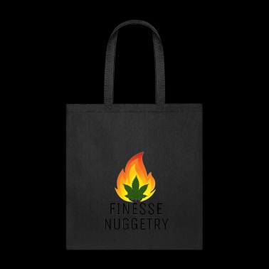 Fire leaf black - Tote Bag