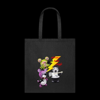 Crazy Paper Craft - Welcome to the jungle - Tote Bag