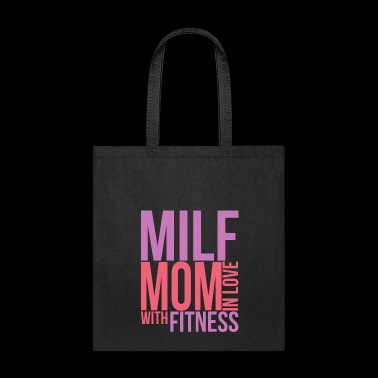 Milf Mom In Love With Fitness Gym Mum Mothers Day - Tote Bag
