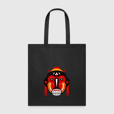 tribal ethnic mask - Tote Bag