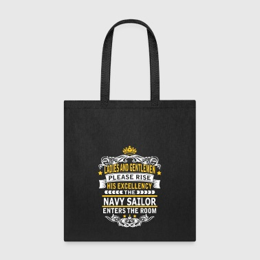 NAVY SAILOR - Tote Bag