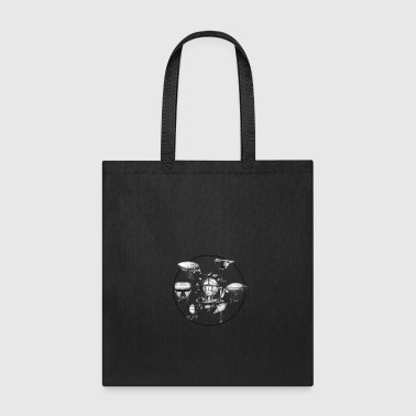 Industrial Futuristic Ships in the sky - Tote Bag