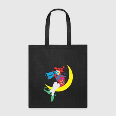 Clown On the Moon - Tote Bag