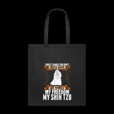 My Freedom My Shih Tzu Dog - Tote Bag