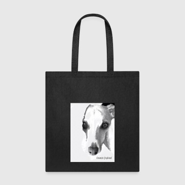 Cinematic Greyhound (with text) - Tote Bag