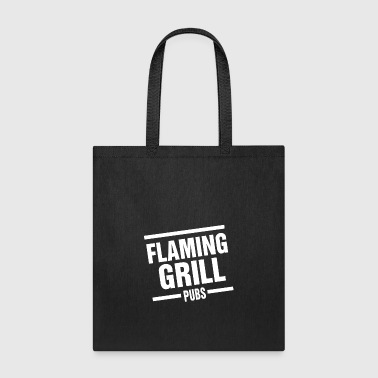 Flaming Grill - Tote Bag