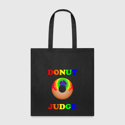 donut judge- pride shirt - Tote Bag