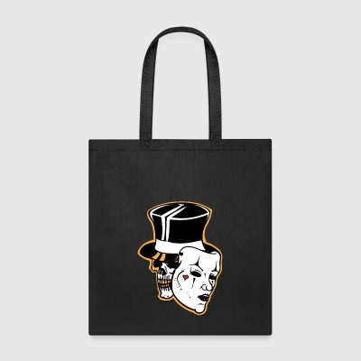 Skull With Mask - Tote Bag