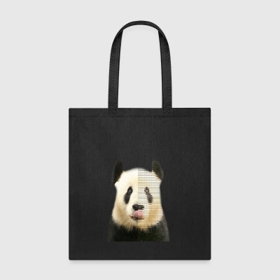 Pixel Panda JMMS Records Tshirt - Tote Bag