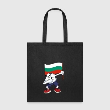 Bulgaria Dabbing Soccer Ball - Tote Bag