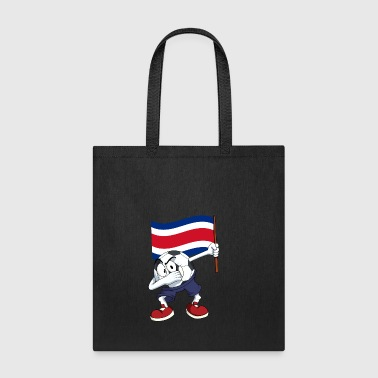 Costa Rica Dabbing Soccer Ball - Tote Bag