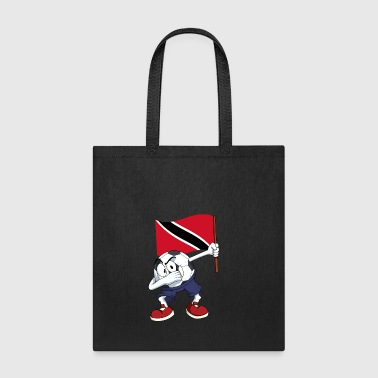 Trinidad and Tobago Dabbing Soccer Ball - Tote Bag