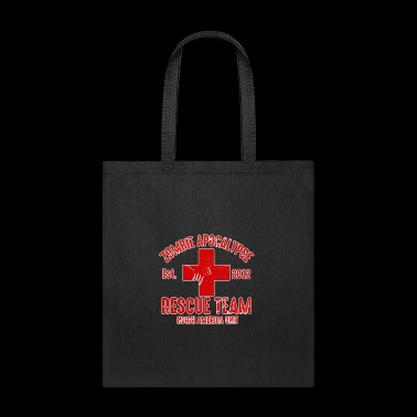 zombie help team - Tote Bag