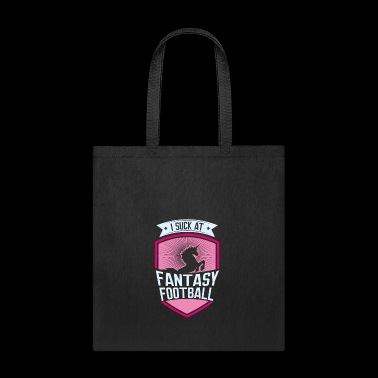 I suck at Fantasy Football, loser shirt, trophy - Tote Bag