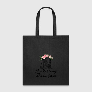 My resting sheep face cute t-shirt - Tote Bag