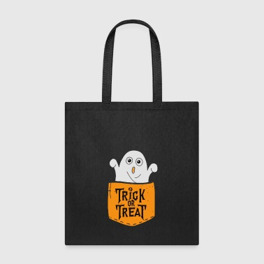 Trick or Treat Funny Halloween - Tote Bag