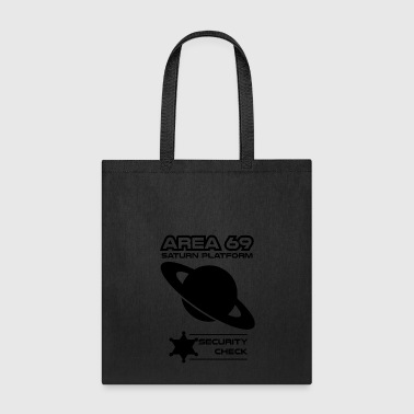 saturn blak - Tote Bag