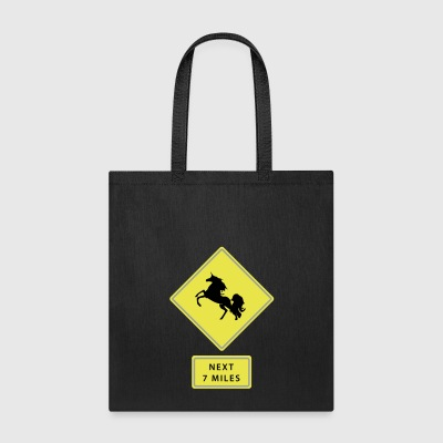 Unicorn traffic sign - Tote Bag