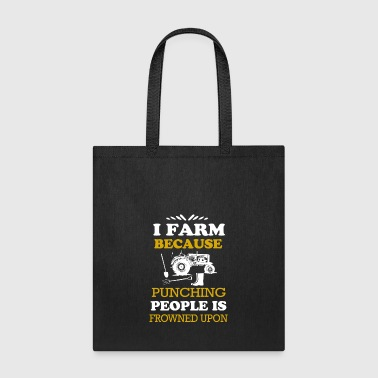 I Farmer T Shirts - Tote Bag