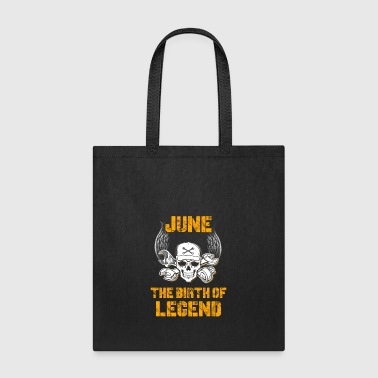 June The Birth Of Legend Aircraft Mechanic T-Shirt - Tote Bag