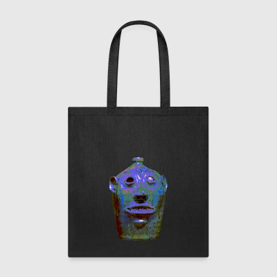Southern Pottery Face Jug Grotesque - Tote Bag