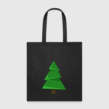 Christmas tree fun spruce New Year vector image - Tote Bag