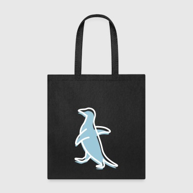 A Waddling Penguin - Tote Bag