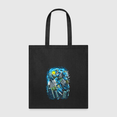 Destroy The City. The Horrible Robot Attack. - Tote Bag