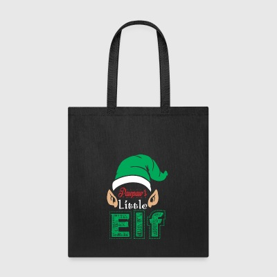 Pawpaws Little Elf Christmas Xmas - Tote Bag