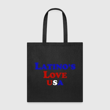 Latino's Love T Shirt - Tote Bag