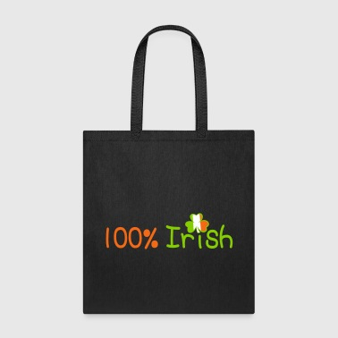 ♥ټ☘Kiss Me I'm 100% Irish-Irish Rule☘ټ♥ - Tote Bag
